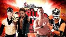 Robbie Eagles & Taiji Ishimori vs. El Desperado & Yoshinobu Kanemaru NJPW Road To Power Struggle 2018  Super Junior Tag League 2018  Day 6