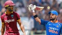 India VS West Indies 2nd ODI Match Highlights: Shai Hope Helps WI Tie Second ODI | वनइंडिया हिंदी