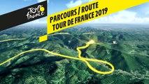 Parcours / Route 3D - Tour de France 2019