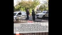 Hillary Clinton, Barack Obama et CNN visés par des engins potentiellement explosifs