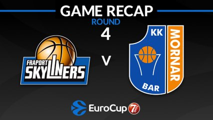7Days EuroCup Highlights Regular Season, Round 4: Skyliners 98-75 Mornar