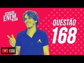 Enem 2017 - Matemática   Questão 168 (Caderno Amarelo)