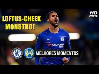 Chelsea 3 x 1 BATE - Melhores Momentos e Gols (HD COMPLETO) 25/10/2018