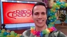""" """"¡Hay fiesta en #TCMiCanal!""""Leonel está listo para celebrar el cumpleaños de Douglas, ¿y tú?  A las 9AM: ¡Empieza la DIVERSIÓN en  eCasaEnCasa! ✨"""