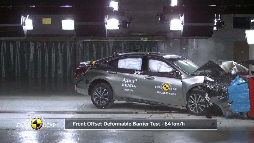 Lexus ES - Crash Tests 2018