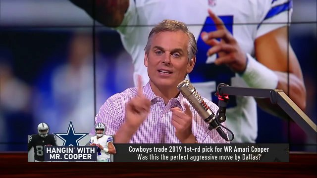 Colin Cowherd evaluates the Cowboys' aggressive trade for Amari Cooper | NFL | THE HERD