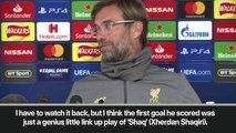 Eng Sub: Klopp hails 'genius' Shaqiri's assist for Salah's 50th goal