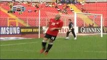 الشوط الأول من مباراة مصر و انغولا 2-1 ربع نهائي كاس افريقيا 2008