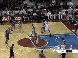 NBA BASKET BALL - Yao Ming Dunks On Ben Wallace