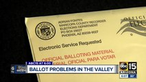 ABC15 investigators looking into people getting the wrong voting ballots