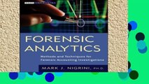 Popular Forensic Analytics  Methods and Techniques for Forensic Accounting Investigations (Wiley