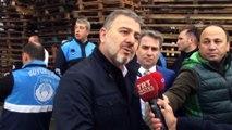 Esenyurt'ta fabrika yangını - Esenyurt belediye başkanı açıklama (5) - İSTANBUL