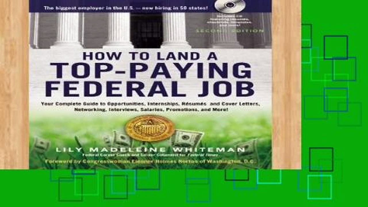 Library  How to Land a Top-Paying Federal Job