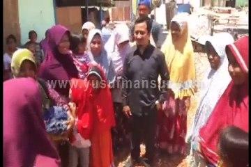 Mengunjungi Warga Terdampak Gempa Lombok Part 2