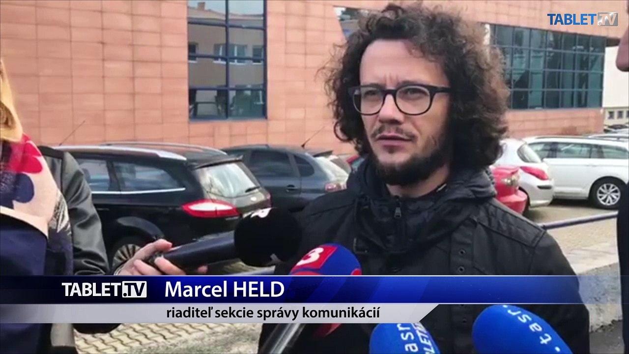 ZÁZNAM: Brífing riaditeľa sekcie správy komunikácií magistrátu hlavného mesta M. Helda