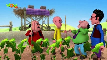 Motu Patlu in Hindi | The Carrot Thief| Cartoon for Kids | Wow Kidz