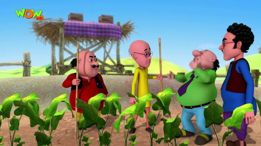 Motu Patlu in Hindi   The Carrot Thief  Cartoon for Kids   Wow Kidz