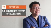 Rappler Talk: Mon Abrea on the unintended effects of tax reform