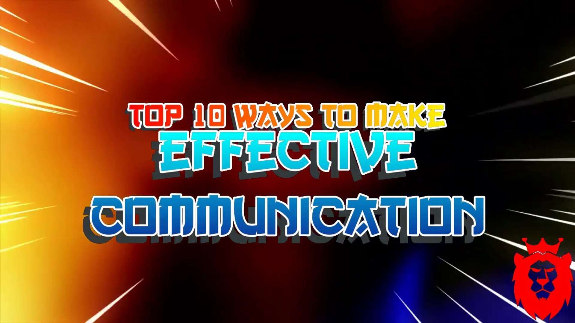 TOP 10 tips for effective stage communication!!