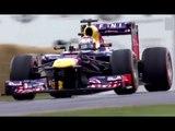 Faster than Loeb? Sebastien Buemi, Festival of Speed, Red Bull RB7 F1 - sub 45 second run!