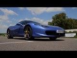 Ferrari 458 - Nic Minassian driving masterclass at Goodwood