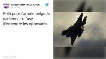Remplacement des F-16 en Belgique. Bruxelles choisit le F-35 américain.