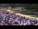Sebastien Loeb Donuts Citroen DS3 WRC at Goodwood Festival Of Speed