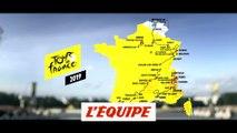 Le parcours du Tour 2019 en 3D - Cyclisme - Tour de France