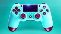 Nouvelle Manette PS4 : Berry Blue DUALSHOCK 4 Bande Annonce