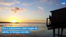 Visite d'un carrelet à Nieul-sur-Mer