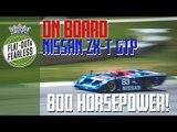 800bhp Nissan GTP flies round Road Atlanta   on board