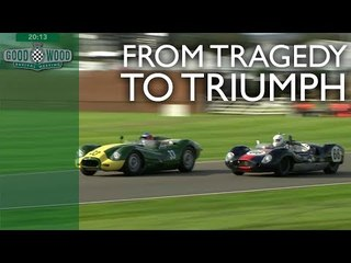 From last to first: Lister Jaguar 'Knobbly' overtake compilation