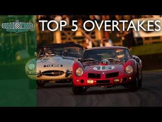 Top 5 overtakes at Goodwood Revival