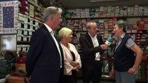 Hautes-Alpes : à 75 ans , madame Lagier tient toujours son magasin de chaussures à Chorges