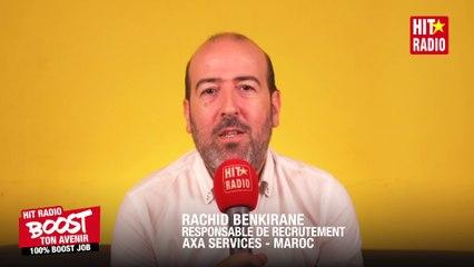 LE RESPONSBLE DE RECRUTEMENT AXA SERVICES MAROC VOUS CONSEILLE - 100% Boost