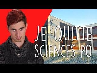 POURQUOI j'ai quitté SCIENCES PO ?