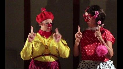 Expérience scientifique Etoil'Clown - Linotte & Salivette