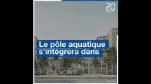 Les projets de pôle aquatique et de cathédrale des sports de l'UCPA à Bordeaux