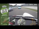 Onboard fierce Porsche 911 battle at Spa