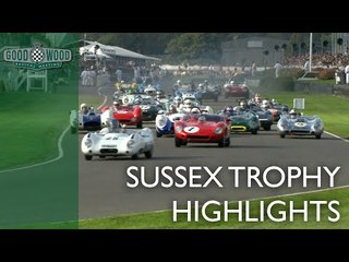 Sussex Trophy Highlights | Goodwood Revival 2018