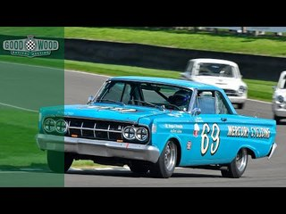 Shedden shreds track in Mercury Comet Cyclone at Revival