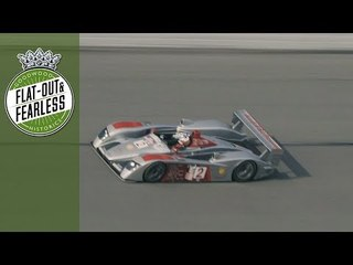9 minutes of raw sounds and action from Daytona