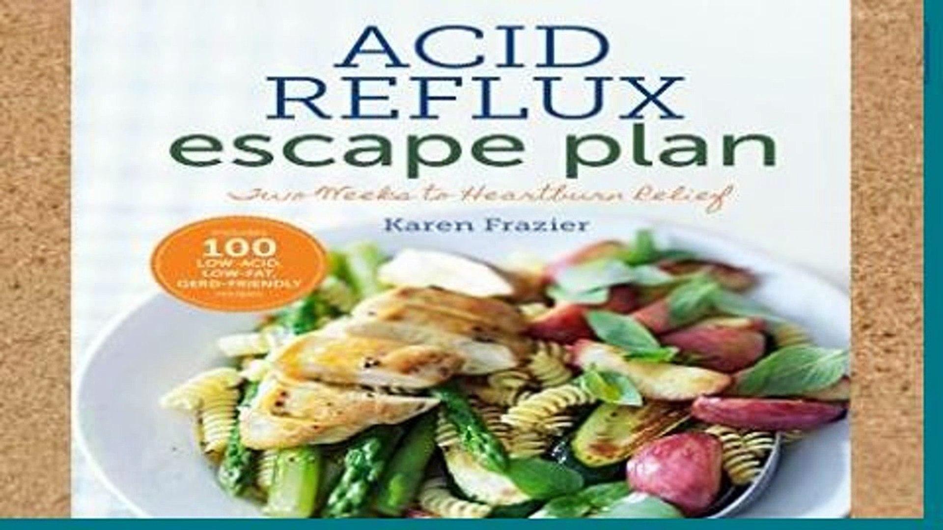 Review The Acid Reflux Escape Plan (Special Diets)