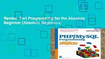 Review  Perl Programming for the Absolute Beginner (Absolute Beginners)