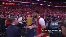 Anthony Davis postgame interview   Trail Blazers vs Pelicans Game 4   April 21, 2018