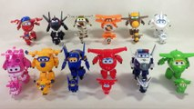 24 Super Wings Transforming Robots Complete Collection Jett Jerome Donnie Dizzy || Keith's Toy Box