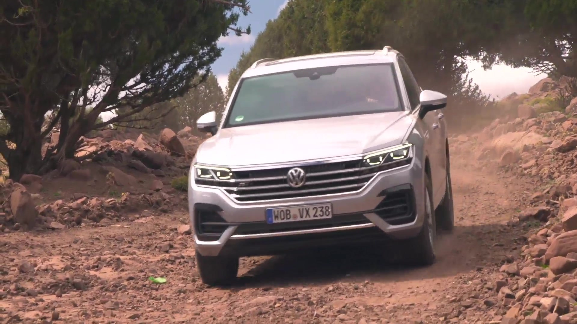 Volkswagen Touareg In Marocco Off Road Video Dailymotion