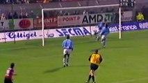 EAG-STRASBOURG 2-1   12E JOURNÉE LIGUE 1 2000-01 Les buts de Bruno Rodriguez et Hafid Tasfaout