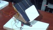 Öğrenciler Ayçiçeğinden Örnek Alarak 'Güneş Takip Sistemi' Tasarladı