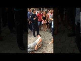 Homem não identificado leva tiro na perna após tentativa de roubo no centro de Itapipoca